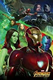POSTER STOP ONLINE Avengers Infinity War - Movie Poster/Print (Iron Man & Team) (Size 24' x 36')