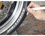 Keiti Motorrad Reifenstift Marker TP300R Rot