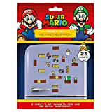 Super Mario Fridge Magnet Set/スーパーマリオ冷蔵庫マグネットセット