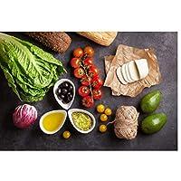 フルーツキッチン野菜クッキングサプライフードウォールアートポスターHdプリントキャンバス絵画家の装飾リビングルームアートワークギフトの装飾-40x60CMフレームなし