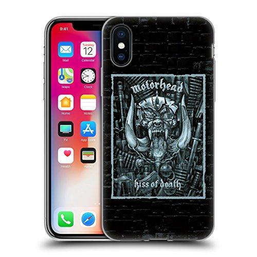 Head Case Designs Oficial Motorhead El Beso de la Muerte Portadas de Álbumes Carcasa de Gel de Silicona Compatible con Apple iPhone X/iPhone XS