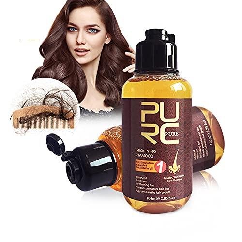 YYDS Champú para el Cuidado del Cuero cabelludo, Tratamiento para el Cuidado del Cuero cabelludo y la caída del Cabello para Hombres y Mujeres, champú para el Cuidado del Cuero cabelludo con Jengibre