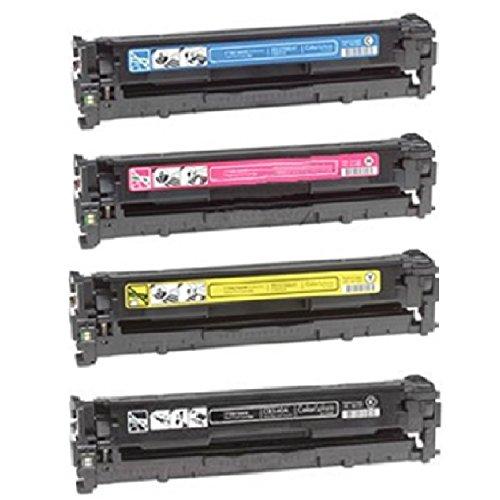ENCRE BREIZ Pack 4 Toners Compatibles remplacent 054 h pour Canon Image Class MF640C MF641CW MF642CDW MF643CDW MF644CDW MF645CX LBP621CW LBP622CDW LBP623CDW