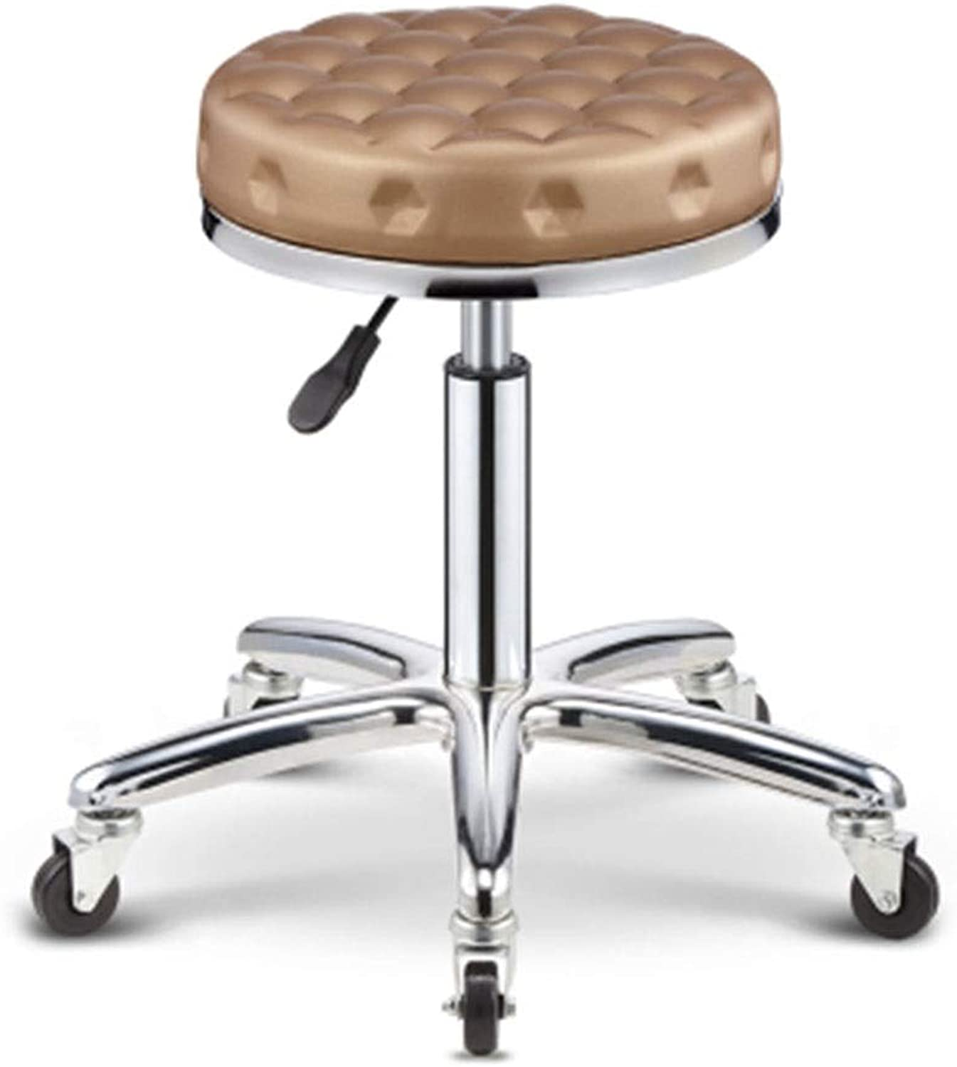 Bar Chair Beauty Stool Barber Chair redate Lifting Stool Work Bench Pulley Round 5 colors 1 Size (color   B)