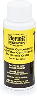 Flukers Saltwater Concentrate/Water Conditioner for Hermit Crabs, 2-Ounce