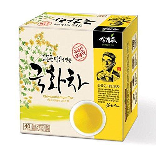 Ssanggye Tea Organic Chrysanthemum Floral Tea Korean 40 Tea bags