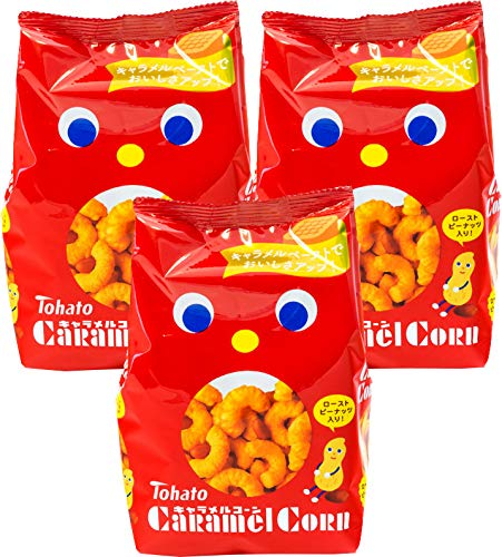 Best Review Of Tohato Caramel Corn Original 2.82oz/80g (3pack)