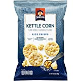 Quaker Rice Crisps, Kettle Corn, 3.52 oz Bag (Packaging May Vary)