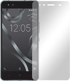 """2 st. slabo displayfolie för BQ Aquaris X5 skärmskyddsfolie tillbehör """"Crystal Clear"""" klar – gjord i Tyskland"""