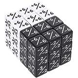 Firtink - Juego de 36 cubos de dados compatibles con MTG, CCG, juego de cartas
