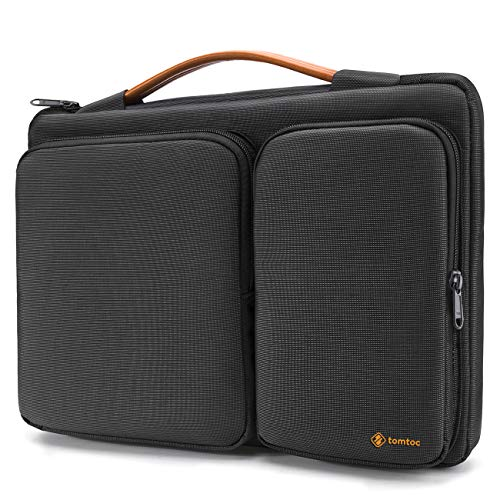 tomtoc Laptop Tasche Hülle kompatibel mit 13,3 Zoll alt MacBook Air, 13 Zoll MacBook Pro 2012-2015, 13,5 Surface Laptop/Book 3 und 2 2017 Laptoptasche Aktentasche Notebook Sleeve