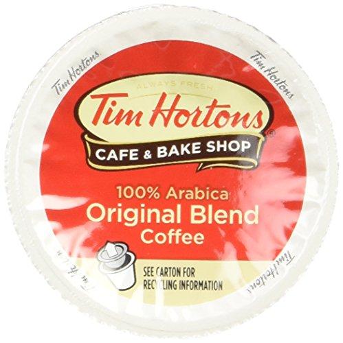 Tim Hortons Single Serve Coffee Cups, Regular (24 Count) (8.89oz)