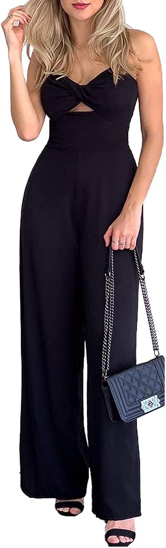Women's Two Pieces Outfits Jumpsuits Top Financial sales sale Superlatite Sleeve Short Crop Wide