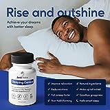 Sleeping Genius, Natural Sleep Aid   12 Supporting Ingredients - 5HTP, Ashwagandha, Magnesium, Montmorency Cherry   Effective Sleep Supplement   Vegan Friendly, 1 Month Supply
