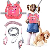 Safety Toddler Leash Child Harness Leash for Walking 4-in-1 Anti Lost Kids Wristband Safety Wrist Link Children Traction Belt Rope for Toddlers Babies Kids Outdoor ActivitiesC
