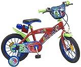 TOIMS pijmask Bicicleta niño, Pijmask, Rojo