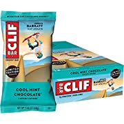 CLIF BAR - Energy Bars - Cool Mint Chocolate - With Caffeine (2.4 Ounce Protein Bars, 12 Count) Packaging May Vary