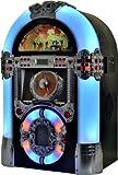 Bluetooth e USB connettore SD Card Slot Legge MP3CD/AM/FM Radio Sistema più luce LED colorata Telecomando incluso