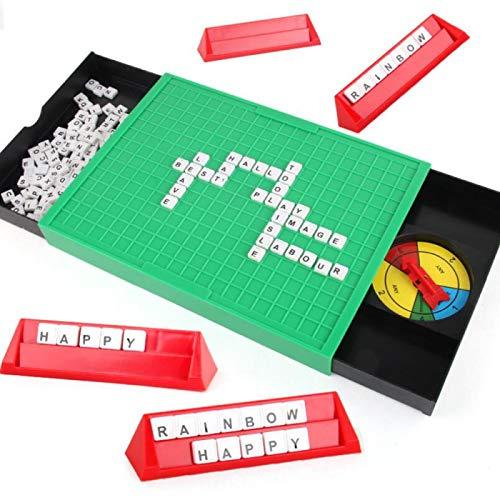Juego de Mesa Scrabble Juego de Rompecabezas Juegos de Rompecabezas Juegos de Scrabble Ejercicio Fuerza de Voluntad, La Observación y La Capacidad Práctica Pueden Aumentar