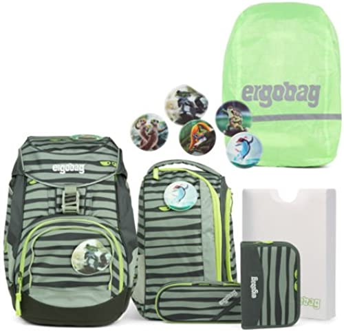 ergobag Pack Schulrucksack Set 7-teilig Super NinB