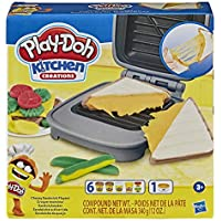 Play-Doh Kitchen Creations Cheesy Sandwich Play Food Set for Kids 3 Years and Up