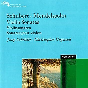 Schubert: 3 Violin Sonatinas / Mendelssohn: Violin Sonata Op.4