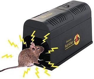 LLVV Ratonera Ratón eléctrico Trampa de Rata Ratón Asesino Ratón electrónico roedor Zapper Trampa de ratón de Alto Voltaje Uso en la Cocina en el hogar