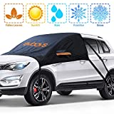 EVBOYS Windshield Snow Cover Compatible with Most SUV Ice Protection UV Frost Dust Fallen ...