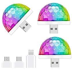 Image of USB Mini Disco Light,3...: Bestviewsreviews
