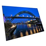 Poster Print River Tyne Bridge Sage Newcastle Gateshead