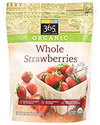 365 Everyday Value, Organic Whole Strawberries, 32 oz, (Frozen)