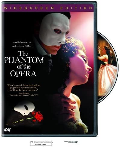 The Phantom of the Opera Widescreen Edition by Gerard Butler product image