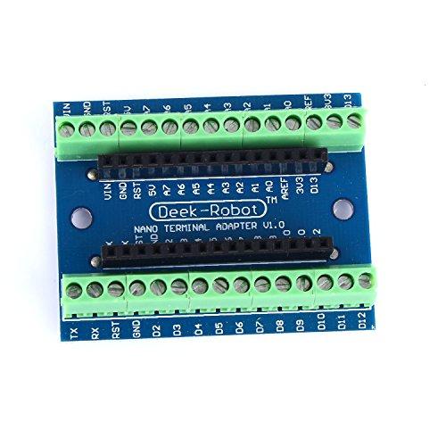 Tinxi Nano Adattatore Terminale per Arduino Nano V3.0 AVR ATMEGA328P Bordo di Modulo