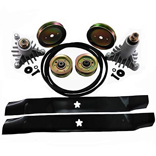 One New Deck Rebuild Kit Fits AYP, Craftsman DYT 4000, DYT4000, Others Models Interchangeable with 10232, 129861, 129861-A, 130794, 130794-A, 131494, 131494-A, 134149, 134149-A, 165888, 165888-