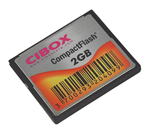 Cibox SF1003-1 Scheda di Memoria CF CompactFlash 2GB