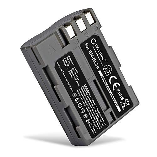 CELLONIC Batería Premium Compatible con Nikon D50 D70s D80 D90 D200 D300 D300S (1600mAh)...