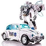 Juguetes de Transformers, Nuevo tamaño Grande 21 cm Tanque de Robot Modelo Juguetes Fresco Transformación Anime Figuras de acción Aviones Coche Película Niños Regalo (Color : 5)