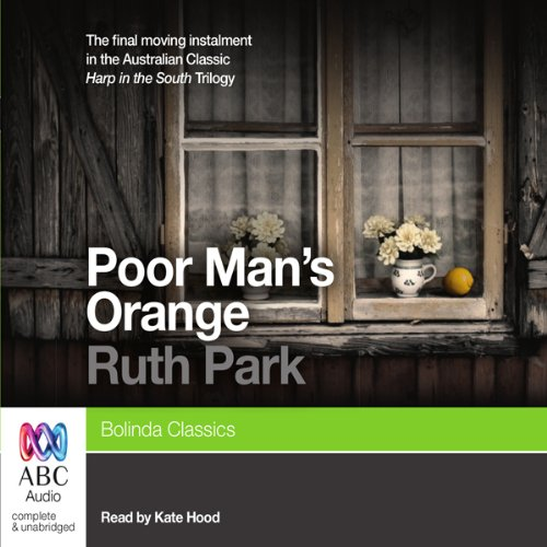 Poor Man's Orange audiobook cover art
