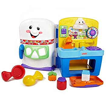 Fisher-Price Laugh & Learn Learning Kitchen Interactive Pretend Play Set [Amazon Exclusive]