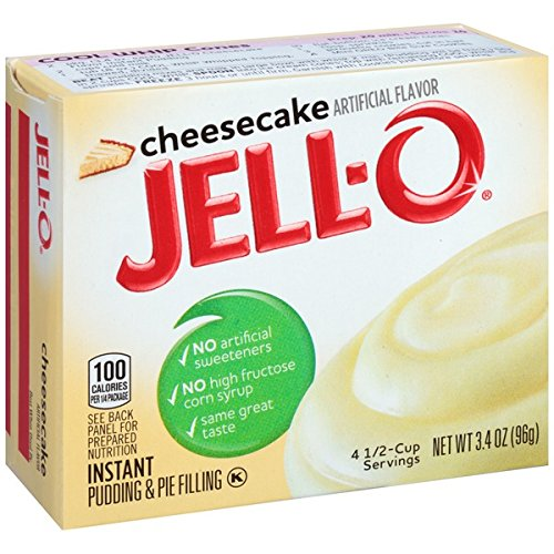 Jell-O Cheesecake Instant Pudding