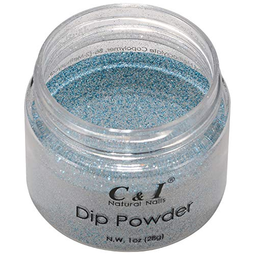 C & I Dipping Powder Color No.051 Ice-Blue Pearl Shine Color System