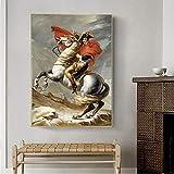 3D Leinwandmalerei Napoleon Berühmte Kunst Leinwand