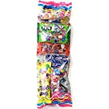 Surtido de Golosinas y Dulces. Grande. Fiestas de Cumpleaños y Celebraciones Infantiles Especiales. Pack con 10 bolsas individuales.