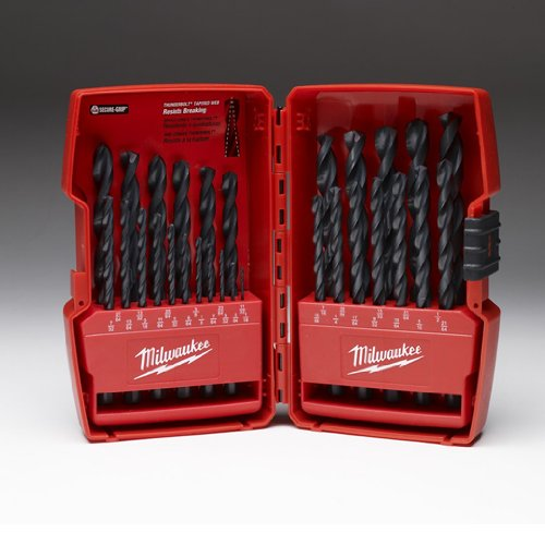 Milwaukee Electric Tool 48-89-2802 Thunderbolt Drill Bit Set, 29 Pieces, 1/16-1/2'