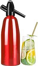 FDYD Soda Maker bärbar Seltzer flaska kolsyrat vatten hemlagad glittrande drycker maskin, röd