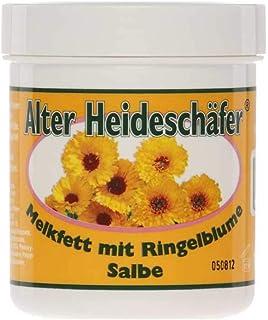 Alter Heideschäfer Melkfett mit Ringelblume Salbe Hautschutz Hautpflege, 100 ml