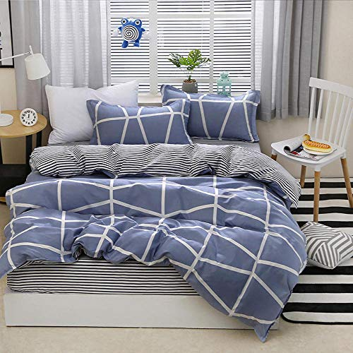 Duvet cover set Four-piece suit, Soft and comfortable, stylish and simple, multi-species bed linings-Eternal years_2.2 Four-piece set