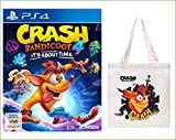 Crash Bandicoot 4: It's About Time - [PlayStation 4] + Vorbestellerbonus Jutebeutel