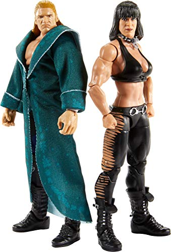 WWE Matt Hardy vs Jeff Hardy Elite Collection 2-PackAction Figures Each with 2 Extra Sets of Swappable Hands and Superstar-specific Accessories