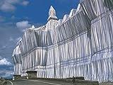 Germanposters Christo Reichstag Vorderseite bei Tage Poster